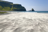 View across the Black and White Sands of Talisker Bay Photographic Print by Ruth Tomlinson