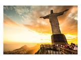 Christ Redeemer Rio De Janeiro Poster