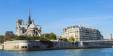 Notre-Dame Cathedral and Ile De La Cite, Paris, France, Europe Photographic Print by G & M Therin-Weise