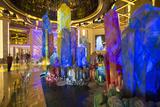 Crystal Lobby in Galaxy Hotel, Taipa, Macau, China, Asia Photographic Print by Ian Trower