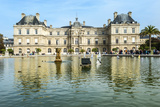 Luxembourg Palace and Gardens, Paris, France, Europe Photographic Print by G & M Therin-Weise
