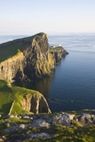 View to the Clifftop Lighthouse at Neist Point Photographic Print by Ruth Tomlinson