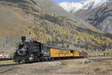 Durango and Silverton Narrow Gauge Railroad, Silverton, Colorado, Usa Photographic Print by Richard Maschmeyer