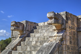 Platform of the Eagles and Jaguars, Chichen Itza, Yucatan, Mexico, North America Photographic Print by Richard Maschmeyer