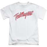 Youth: Ted Nugent- Clean Logo T-shirts