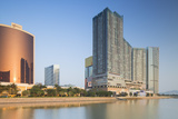 Wynn Hotel and One Central Complex, Macau, China, Asia Photographic Print by Ian Trower
