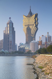 Grand Lisboa Hotel and Casino, Macau, China, Asia Photographic Print by Ian Trower