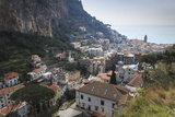 Elevated View of Amalfi, Costiera Amalfitana (Amalfi Coast), Campania, Italy Photographic Print by Eleanor Scriven