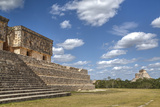 Palace of the Governor, Uxmal, Mayan Archaeological Site, Yucatan, Mexico, North America Photographic Print by Richard Maschmeyer
