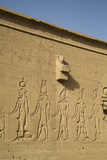 Exterior Reliefs, Temple of Hathor, Dendera, Egypt, North Africa, Africa Photographic Print by Richard Maschmeyer