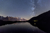 Camping under the Stars at Lac Des Cheserys Photographic Print by Roberto Moiola