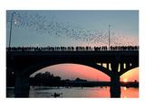 Austin Congress Aveue Bridge Print