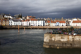 Stormy Skies over St. Monans Harbour, Fife, Scotland, United Kingdom, Europe Photographic Print by Mark Sunderland