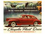 Chrysler Fluid Drive - Niagara Poster
