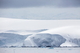 Snow Covered Mountains and Glaciers in Dallmann Bay, Antarctica, Polar Regions Photographic Print by Michael Nolan