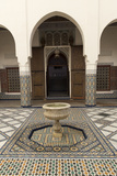 Courtyard, Museum of Marrakech, Medina, Marrakesh, Morocco, North Africa, Africa Photographic Print by Stephen Studd