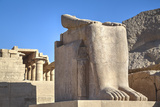 Lower Remains of the Colossus of Ramses Ii Photographic Print by Richard Maschmeyer