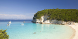 View across the Clear Turquoise Waters of Vrika Bay Photographic Print by Ruth Tomlinson