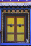 Door at the Buddhist Monastery in Tengboche in the Khumbu Region of Nepal, Asia Photographic Print by John Woodworth
