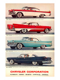 Chrysler 1957 Models Posters
