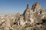 Uchisar, Cappadocia, Anatolia, Turkey, Asia Minor, Eurasia Photographic Print by Tony Waltham