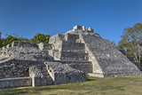 Temple of the South, Edzna, Mayan Archaeological Site, Campeche, Mexico, North America Photographic Print by Richard Maschmeyer