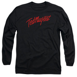 Long Sleeve: Ted Nugent- Distress Logo T-Shirt