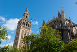 Sevilla Cathedral and Giralda, Seville, Andalucia, Spain Photographic Print by Carlo Morucchio