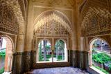 Mirador De Daraxa O Lindaraja, Palacio De Los Leones, the Alhambra, Granada, Andalucia, Spain Photographic Print by Carlo Morucchio