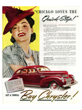 Chrysler - Chicago Quick Step Posters