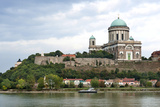 Exterior View of Esztergom Basilica from Danube River Photographic Print by Kimberly Walker