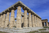 Greek Temples of Hera and Neptune, Campania, Italy Photographic Print by Eleanor Scriven