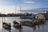Boats on Can Tho River, Can Tho, Mekong Delta, Vietnam, Indochina, Southeast Asia, Asia Photographic Print by Ian Trower