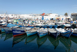 Small Inshore Fishing Boats in Tangier Fishing Harbour, Tangier, Morocco, North Africa, Africa Photographic Print by Mick Baines & Maren Reichelt