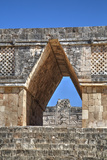 Corbelled Arch, Nuns Quadrangle, Uxmal, Mayan Archaeological Site, Yucatan, Mexico, North America Photographic Print by Richard Maschmeyer