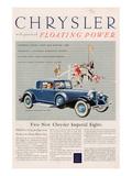 Chrysler Floating Power - 1925 Print
