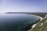 View of Swanage Bay from the Coastal Footpath in Dorset, England, United Kingdom Photographic Print by John Woodworth