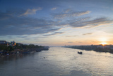 Ben Tre River at Dawn, Ben Tre, Mekong Delta, Vietnam, Indochina, Southeast Asia, Asia Photographic Print by Ian Trower