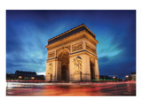 Arc De Triomphe Paris Sunset Prints