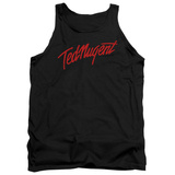 Tank Top: Ted Nugent- Distress Logo Tank Top