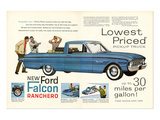 Ford 1960 New Falcon Ranchero Posters