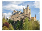 Alcazar Castle Segovia Spain Prints