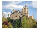 Alcazar Castle Segovia Spain Prints