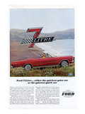 Ford 1966 Quiet Quick 7 Litre Posters