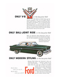 Ford 1954-Only Modern Styling Print