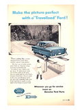 Ford 1954 Genuine Ford Parts Print