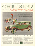 Chrysler Floating Power Posters