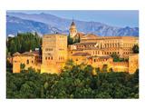 Alhambra Palace Granada Spain Kunstdruck
