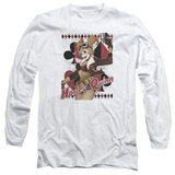 Long Sleeve: JLA- Harley Bombshell T-Shirt