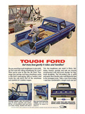 Ford 1964 Tough-But How Gently Pósters